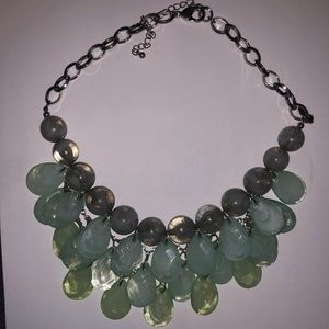 Jewelry: Multicolor Statement Necklace